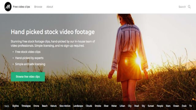 copyright free video download