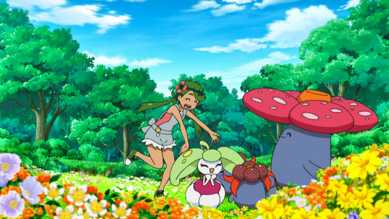 Lulú Anime Pokémon