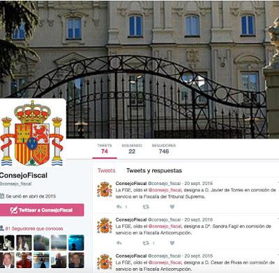La diferencia entre la Fiscalía española y otras a nivel informativo en imágenes