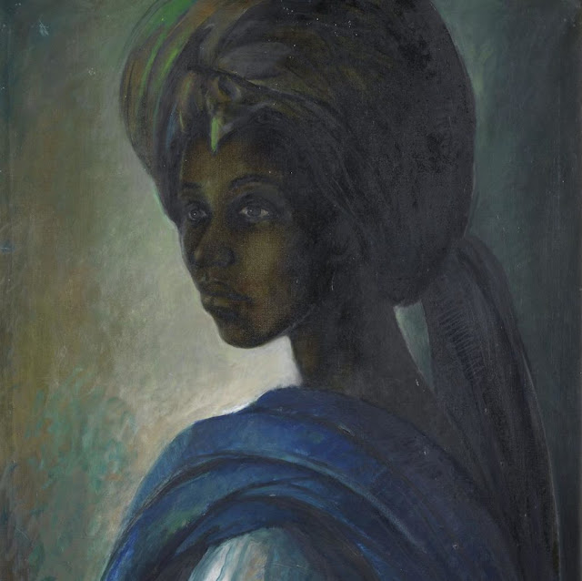 This piece by Ben Enwonwu sold for £1.2m in London in 2018