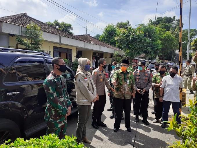 Pandemi Covid -19 ,Kampung Tangguh  Bencana  Di Jember Terbentuk Komandan Kodim  0824  Apresiasi