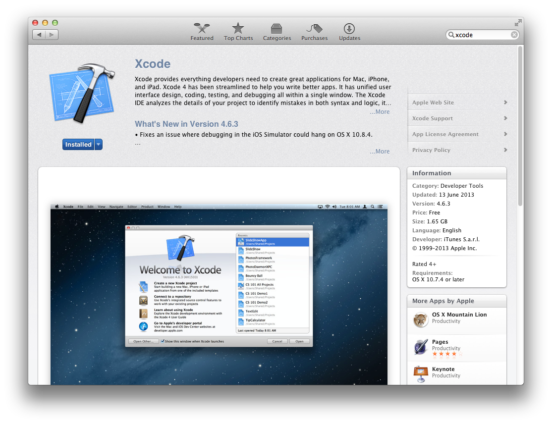 TechnoZeal: C Programming in Mac OS X