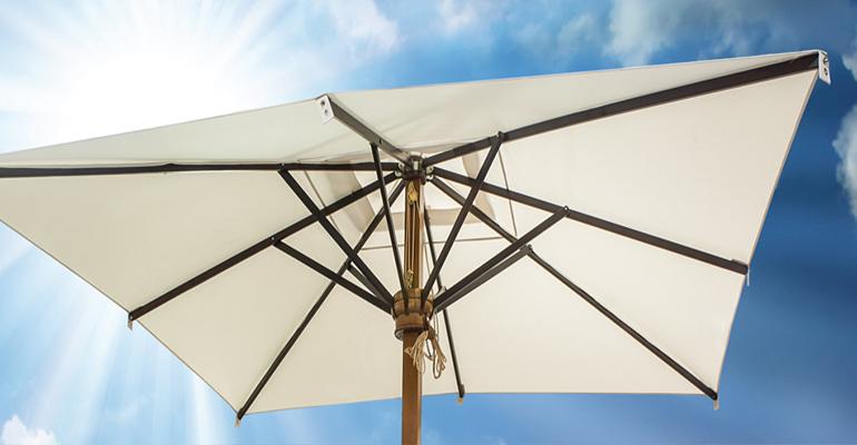 parasoles de madera serie luxe