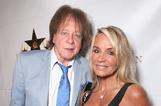 Eddie Money Ans His Wife Laurie Money