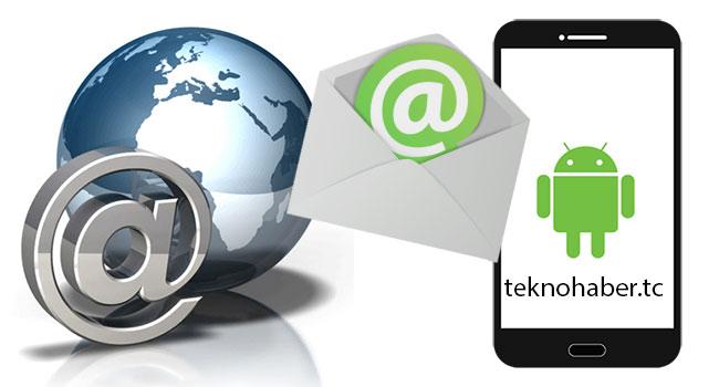 E-posta Adresini Android'de IMAP Olarak Ayarlama
