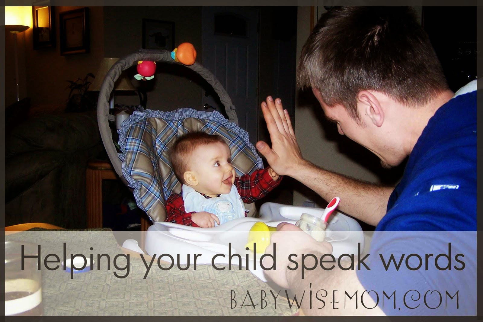 Helping Your Child Speak Words