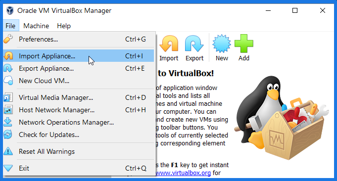 Import Chrome OS On VirtualBox