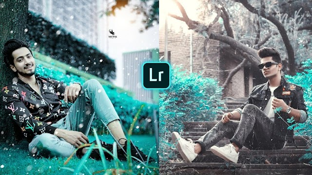 Brown and Aqua Lightroom Presets Free