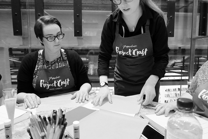 Paperchase Project Craft Workshop Review Glasgow | Colours and Carousels - Scottish Lifestyle, Beauty and Fashion blog