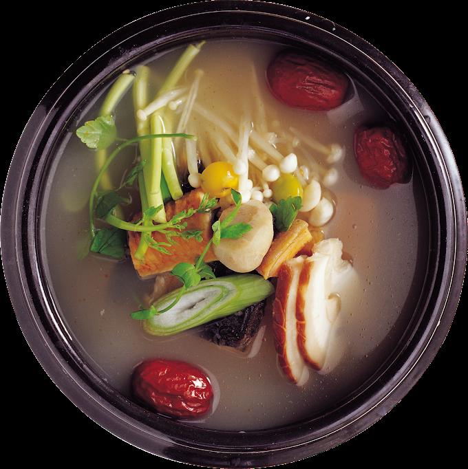 Korean cuisine Vegetarian cuisine Soup Cream, vegetable, cream, soup png by: pngkh.com