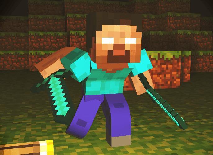 Se você realmente é um viciado e um fan do Minecraft, você vai baixar essa imagem!