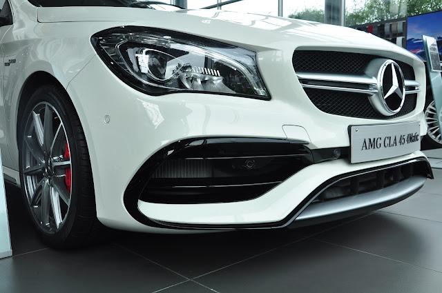 Cản trước Mercedes AMG CLA 45 4MATIC 2018 thiết kế theo thể thao AMG