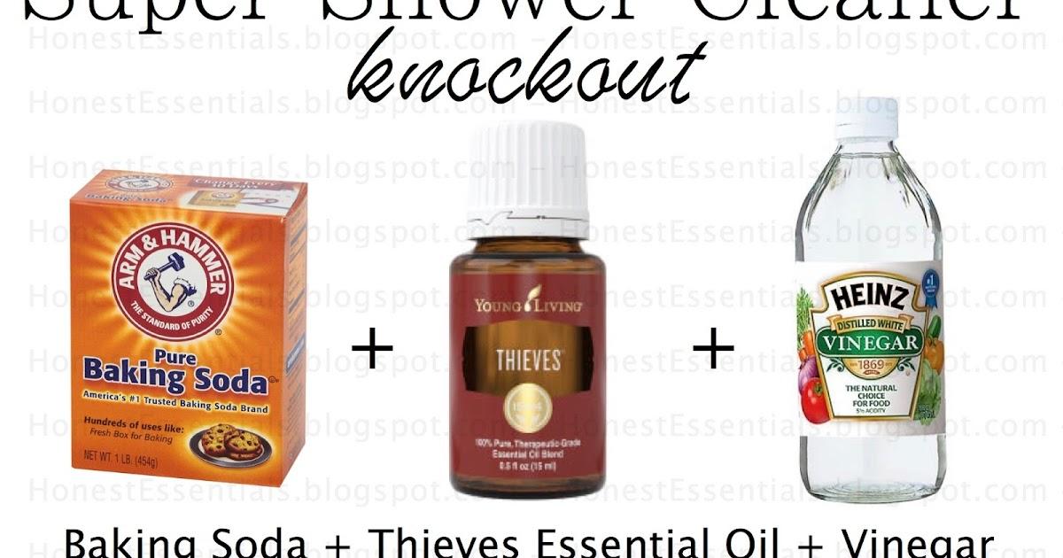 Honest Essentials: Super Shower Cleaner All Natural!