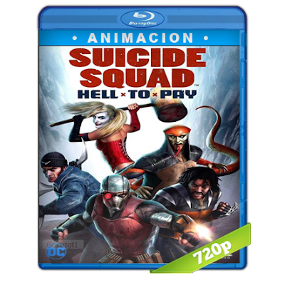 Escuadron Suicida Deuda Infernal (2018) BRRip 720p Audio Trial Latino-Castellano-Ingles 5.1
