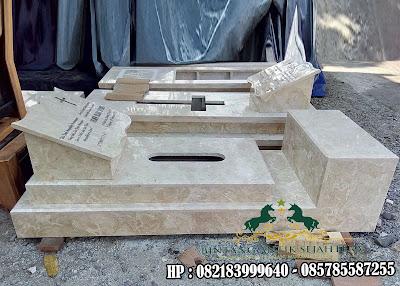 Makam Marmer Model Pahlawan | Makam Pahlawan Marmer | Nisan Kijing Marmer Pahlawan
