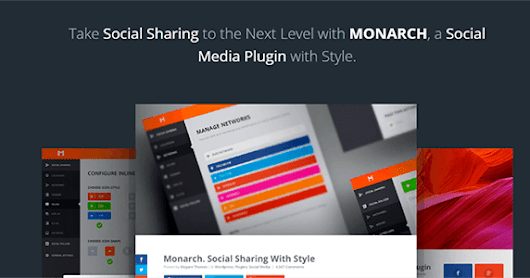 Monarch v1.3 – A Better Social Sharing Plugin For WordPress ~ Tj's Hotspot!
