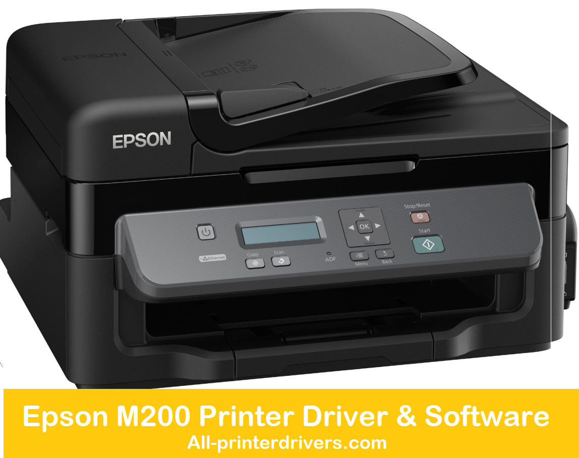 Epson M200 Printer Driver & Software - Download Free Printer
