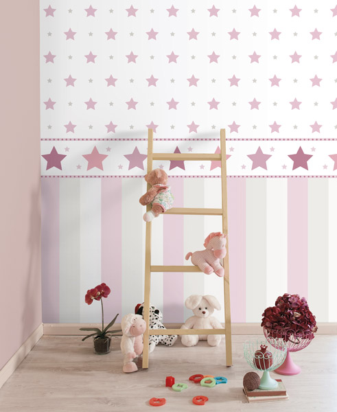 Cenefas de papel pintado para habitaciones infantiles for Papel pintado infantil