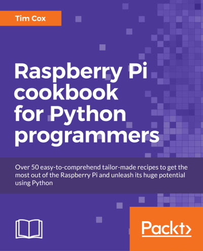 Free ebook: Raspberry Pi cookbook for Python Programmers