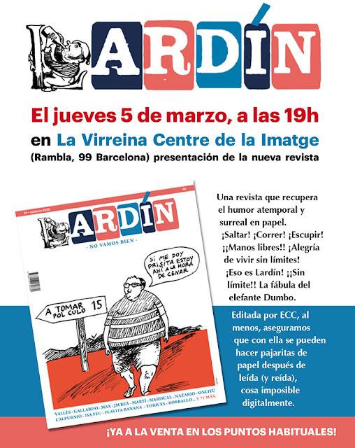 Revista Lardín ¡Primer número a la venta en marzo!