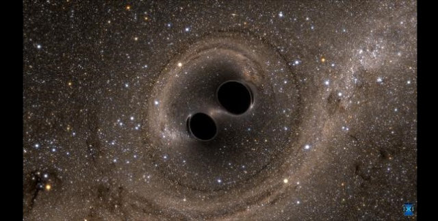 The LIGO experiment has made several detections of colliding black holes. Future gravitational wave experiments might detect such events much further back in time, which could shed light on how black holes form. The SXS (Simulating eXtreme Spacetimes) Project