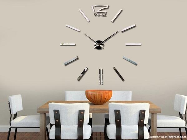 Dinding Dapur Rumah Anda Dapat Dihias Menggunakan Jam Tentunya Harus Memilih Desain Yang Sesuai Dengan Nuansa