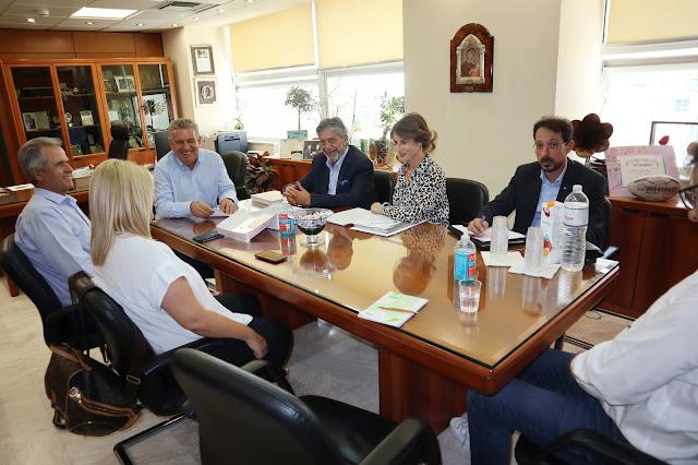 To Αυτοδιοικητικό Δίκτυο Στήριξης του Παλαιστινιακού στο επίκεντρο συνάντησης του Δημάρχου Ιλίου με τον Παλαιστίνιο Πρέσβη