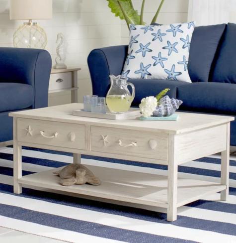 Coastal Coffee Tables White Coffee Table Idea Coastal Living