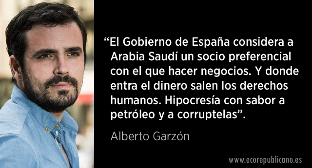 Críticas al viaje de Felipe VI a Arabia Saudita