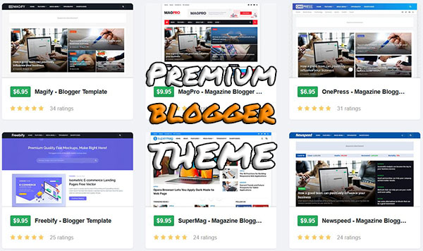 Premium Blogger Themes Image 2