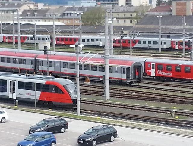 النمساويون,من,أكثر,الشعوب,الأوروبية,استعمالا,للقطارات