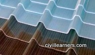 Corrugated tiles types