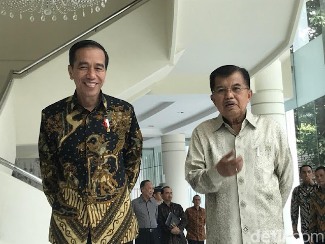 Jokowi Klaim JK Setuju Jadi Ketua Tim Pemenangan
