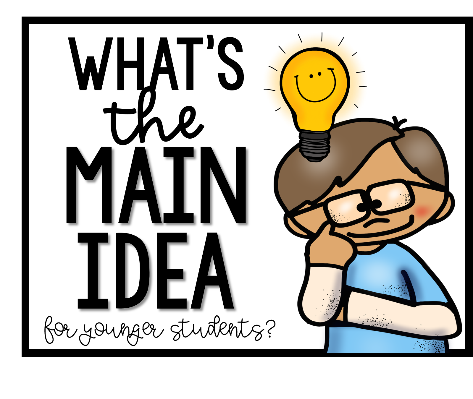 How To Understand Main Idea For Kids