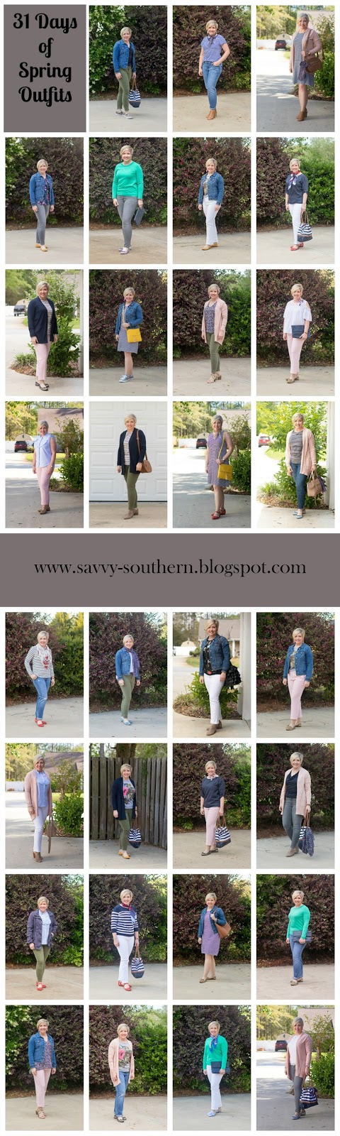 31 days of spring outfits