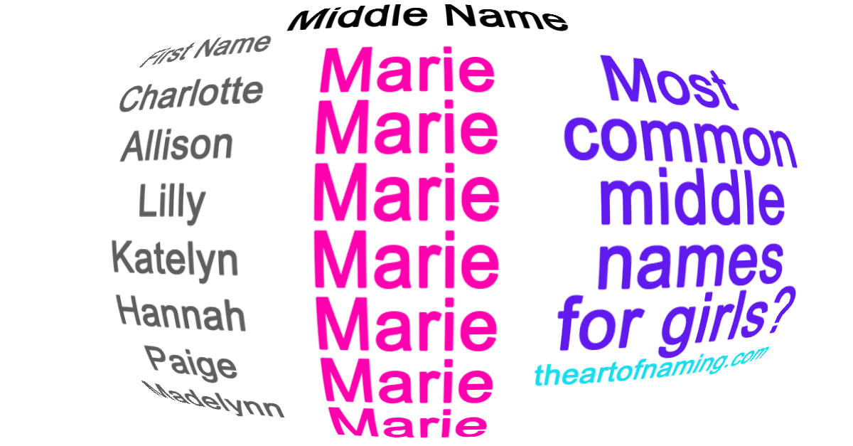 The Art Of Naming Most Common Middle Names For Girls