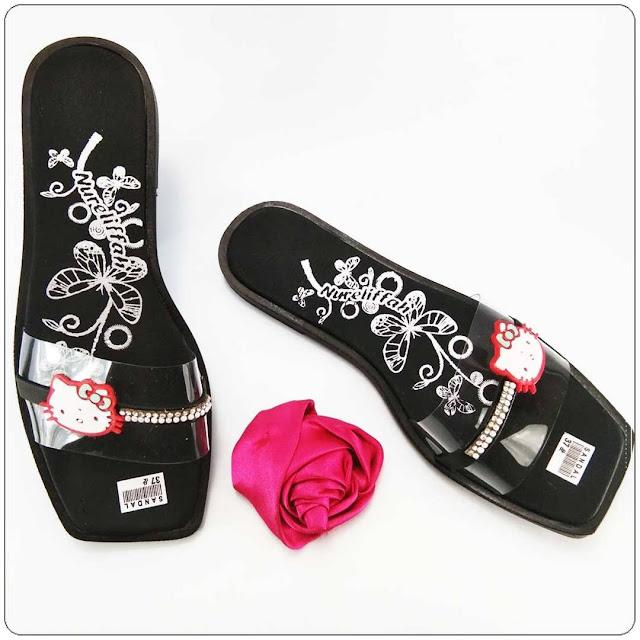 Sandal ELF Slop Mika Permata Wanita
