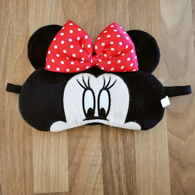 Minnie Mouse gel eyemask