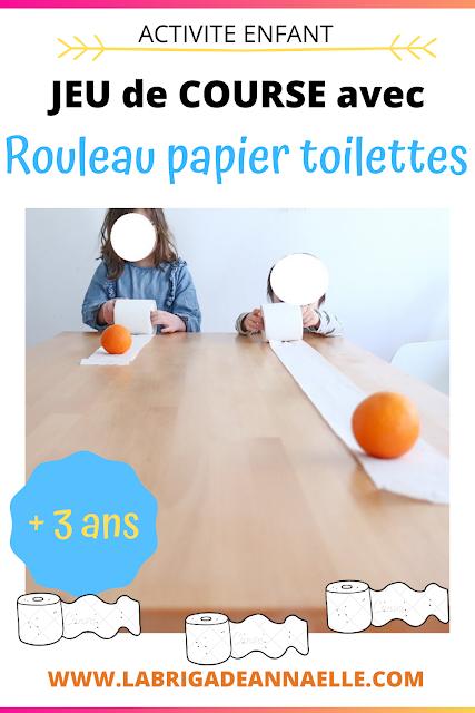 activité rouleau de papier toilette enfant