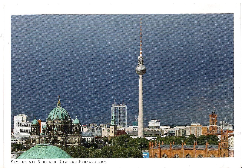 Postcards2lufra Berlin Skyline