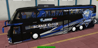 Mod Bussid scania full livery