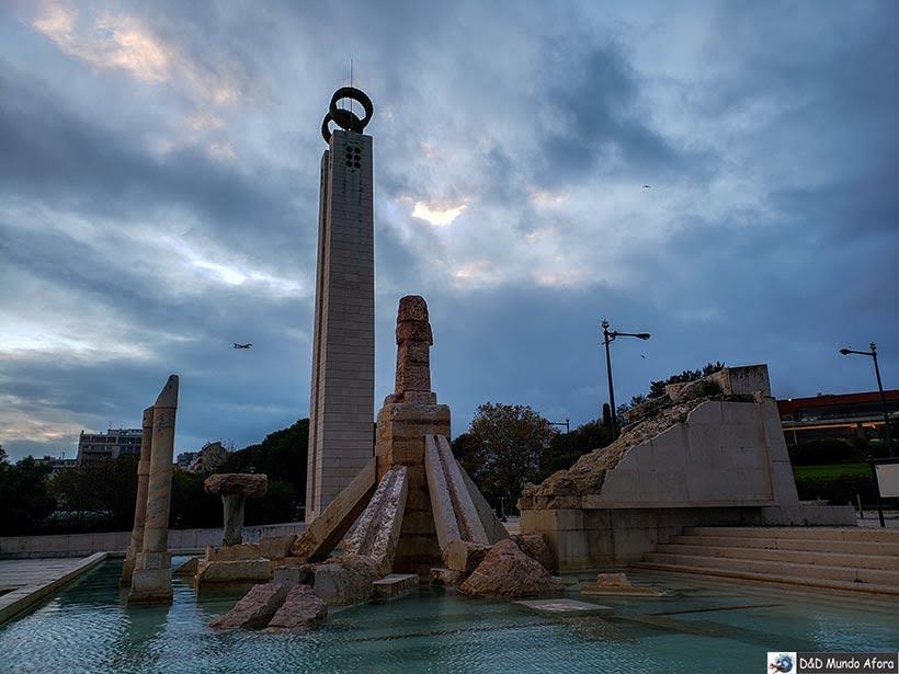 Monumentos do Parque Eduardo VII - o que  fazer em Lisboa