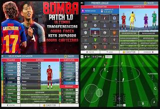 Anda jangan lupa untuk Unduh juga file  Download FTS 19 Mod BOMBA PATCH 1.0 Update Season 2019/2020