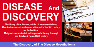 The history of the discovery of the disease and the best Lawyer mesothelioma