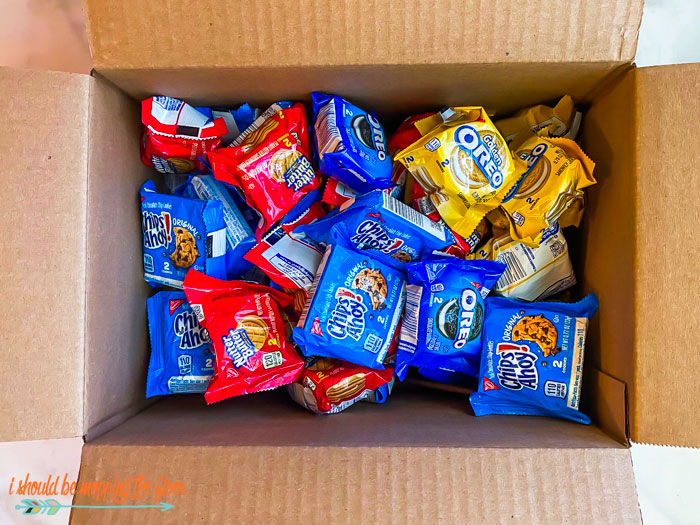 Snacks to Thank Delivery Drivers