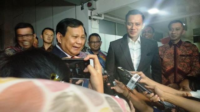 Pengamat: AHY Berpeluang Kuat Jadi Cawapres Prabowo