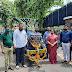 नागरिकांनी, व्यापारी वर्गाने कचरा टाकण्यासाठी ट्रॅक्टर ट्रॉलीचा वापर करावा महापौर प्रतिभा विलास पाटील
