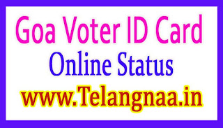 Goa Voter ID Card Online Status