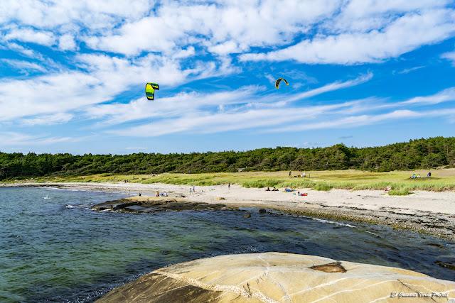 Playa en Ytre Hvaler Najsonal Park - Noruega, por El Guisante Verde Project
