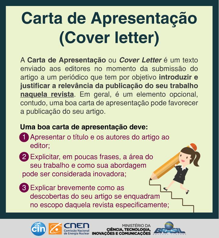 exemplo de cover letter em ingles para submissão de artigos